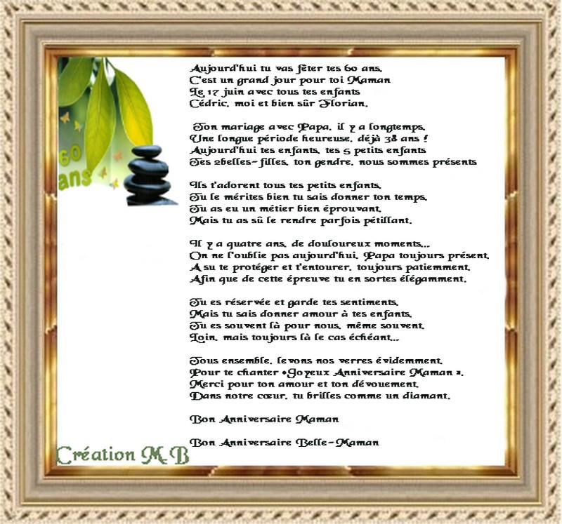 cadre poeme termine vanjpg - Poeme 60 Ans De Mariage Noces De Diamant